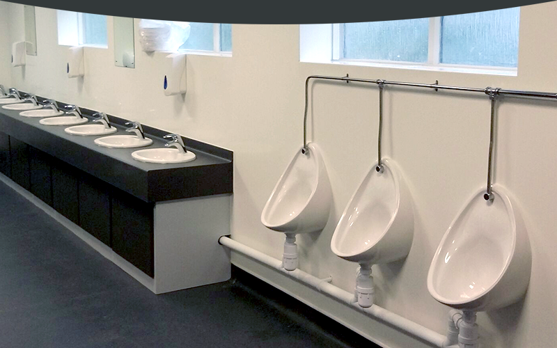 Toilets and Washroom Facilities